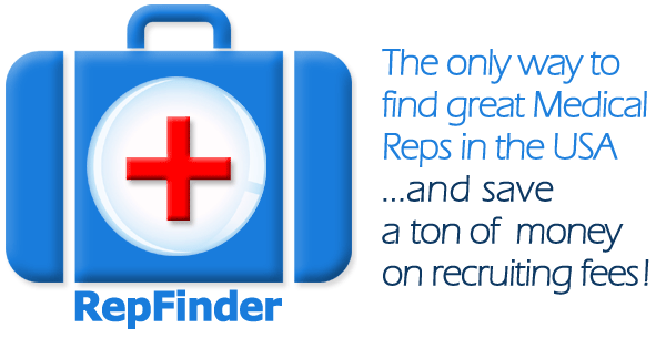 RepFinder USA - Find Great Medical Independent Sales Reps without recruiter or finder's fees.